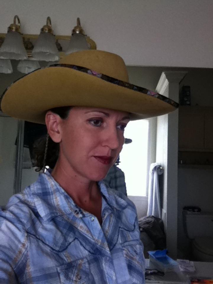 BE cowboy hat